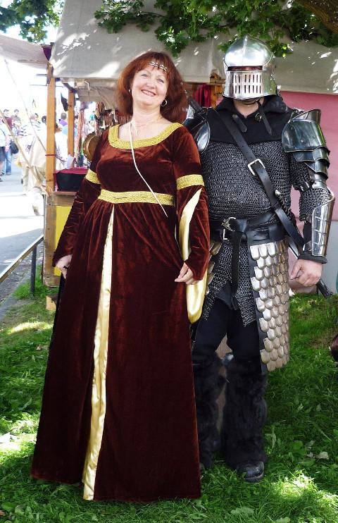"""""""В средневековом костюме"""""""